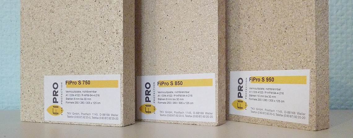 FiPro® und Fireplac® Brandschutzplatten